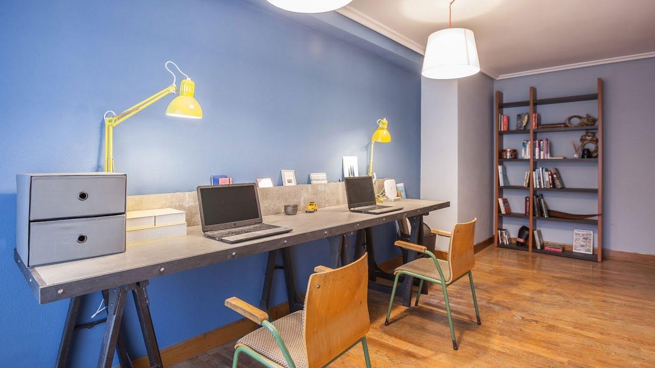 oficina dom stica de estilo industrial de decogarden