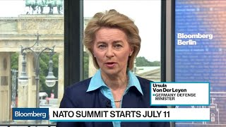 German Defense Minister Warns of Consequences of NATO Division