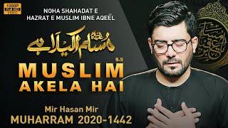 MUSLIM AKELA HAI | Mir Hasan Mir Nohay 2020 | 9 Zilhaj Noha | Shahadat Muslim bin Aqeel Noha 2020 YouTube Videos