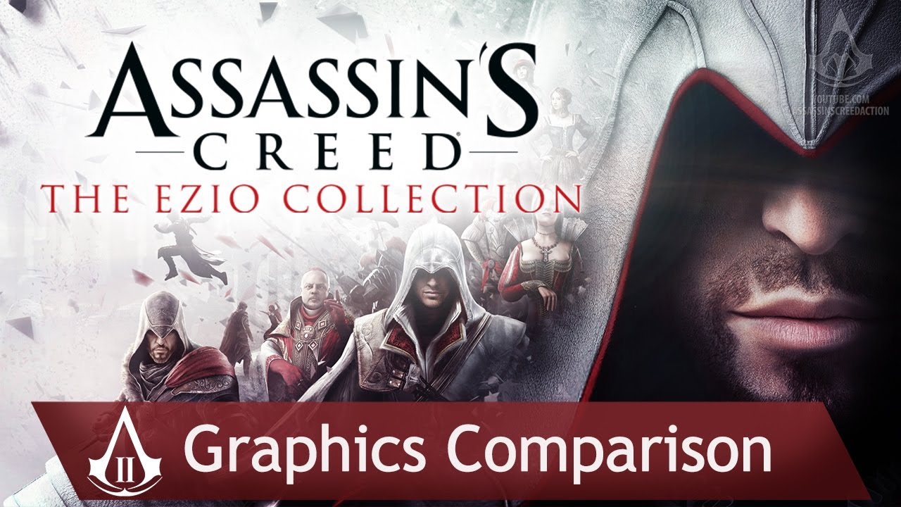 Assassin S Creed The Ezio Collection Graphics Comparison Ps3