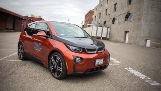 Testing the BMW i3 Electric Car