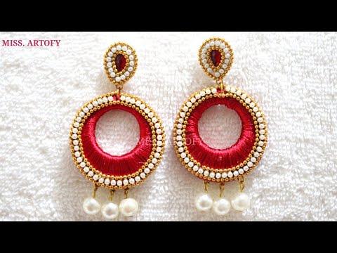 diy-silk-chandbali-earrings-by-miss.-artofy