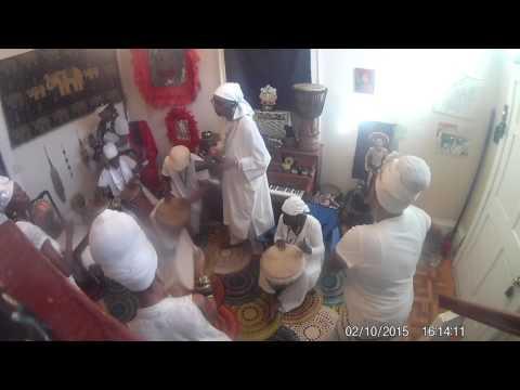 Ceremony Obatala Danbala and Oshumare ~ Voodoo Chief Divine Prince Ty Emmecca