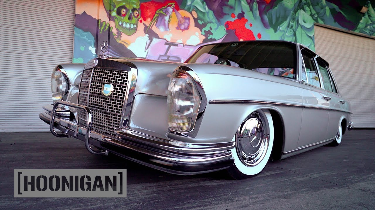Hoonigan Dt 217 Bagged Rhd 1972 Mercedes 280
