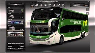 EURO TRUCK simulator 2:  v1.28 mod de mapa br,mod bus,mod passageiro