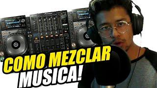 Clases Para Ser DJ - COMO MEZCLAR MUSICA.