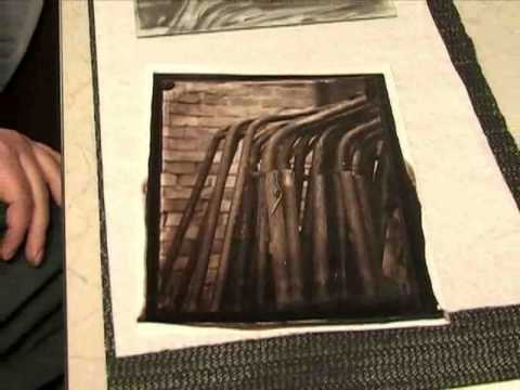 Making An Albumen Print From a Wet Plate Collodion Negative