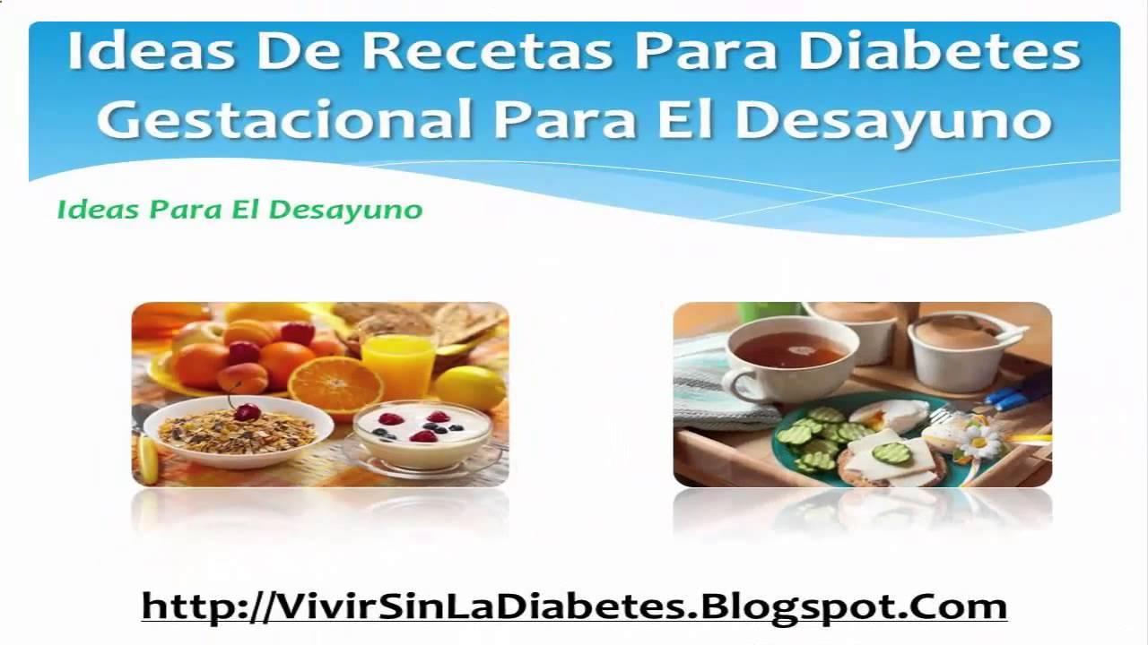 ideas para el desayuno diabetes del embarazo