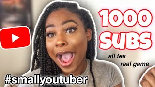 HOW I GOT 1000 SUBSCRIBERS ON YOUTUBE! 10+ tips to grow your YouTube channel in 2020!