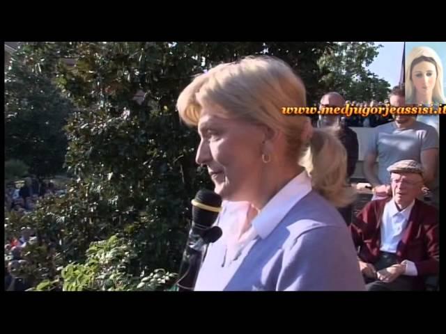 Medjugorje - Testemunho da Mirjana - Ano 2012