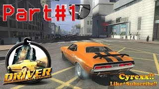 Driver San Francisco walkthrough Gameplay Part 1 (1080p 60FPS) Campaign