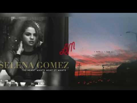 gnash ft. olivia o'brien x selena gomez - the heart loves u (mixed mashup)