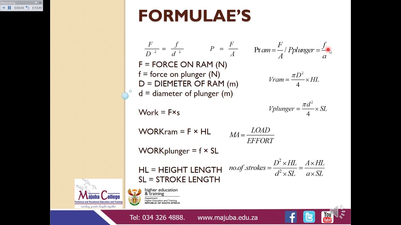 Download Engineering Science N3 (Hydraulics - Part 1) - Ms Z.F Mazibuko