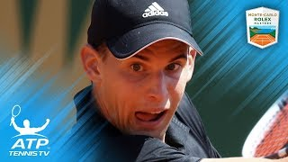 Top 10 Best Shots and Rallies: Rolex Monte-Carlo Masters 2018