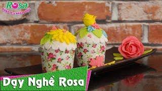 """Bánh Fondant cupcake cực đẹp - Vị """"phù thủy"""" của các loại bánh ngọt"""