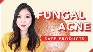 ❌Fungal Acne Skincare Routine • Tiny Little Bumps on the Forehead