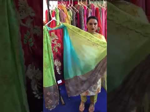 Punjabi designer suits by Amansandhu boutique