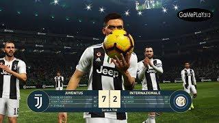 JUVENTUS VS INTER - PES 2019 Realistic