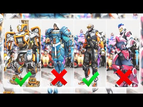 OVERWATCH SKIN CONTEST CUSTOM GAMEMODE!?