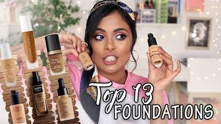 TOP 13 FOUNDATIONS FOR BROWN / INDIAN SKIN