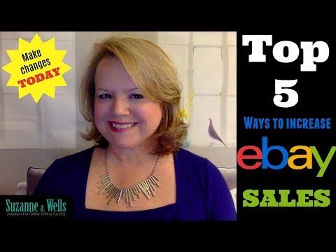 Top 5 Ways to Increase eBay Sales in 2018