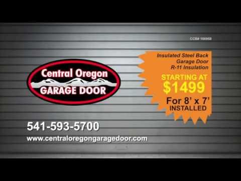Merveilleux Insulated Garage Doors By Central Oregon Garage Door In Bend, Oregon
