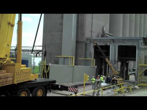 Special Purpose Personnel Elevator External Tower Installation