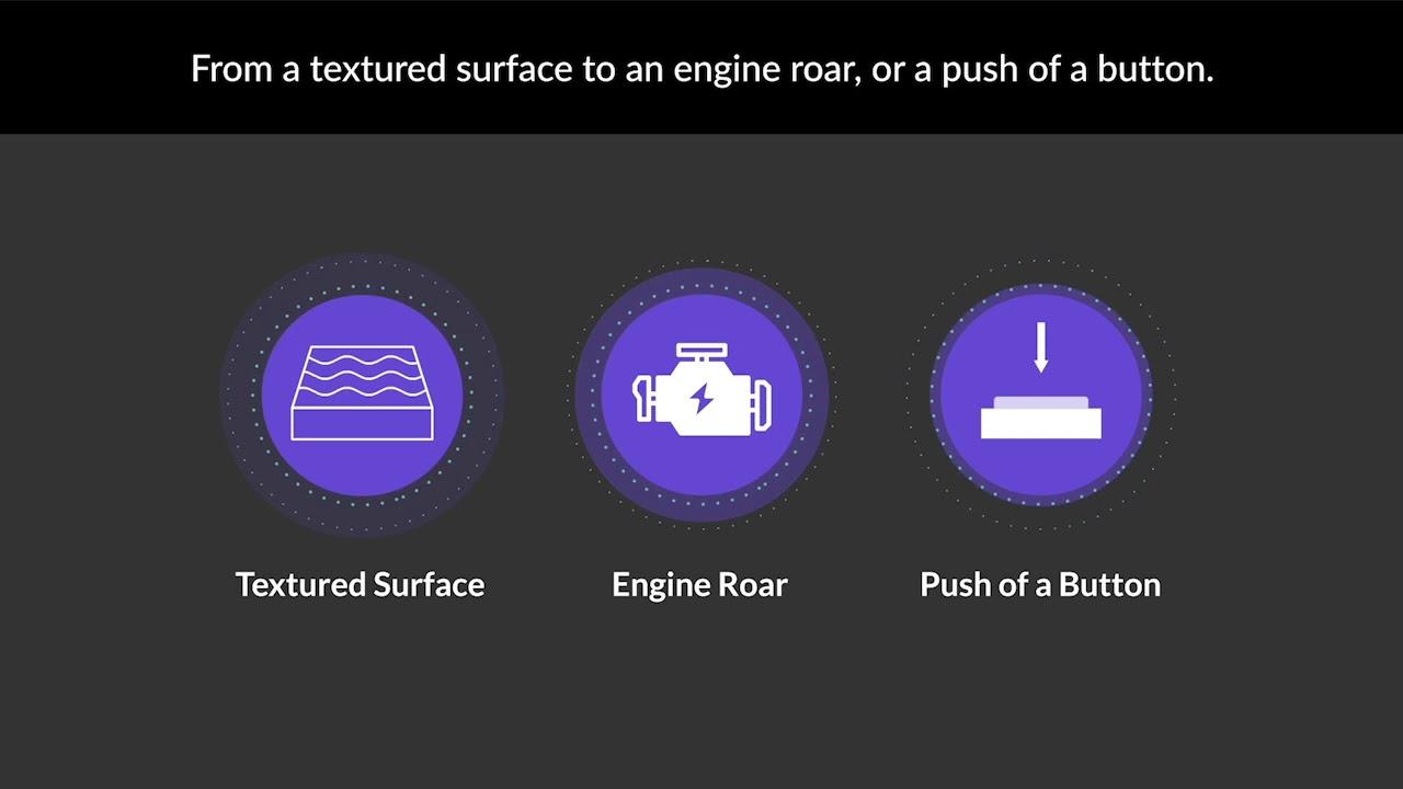 Faurecia e Immersion se asocian para el desarrollo de tecnologías hápticas para vehículos