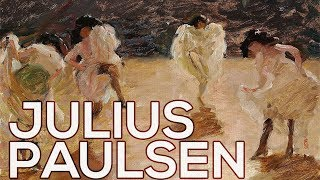 Julius Paulsen: A collection of 45 paintings (HD)