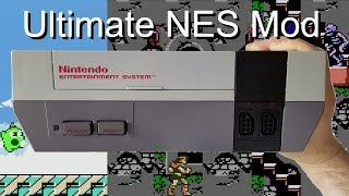 Ultimate NES Mod (NESRGB + Blinking Light Win + Famicom Expansion Audio)