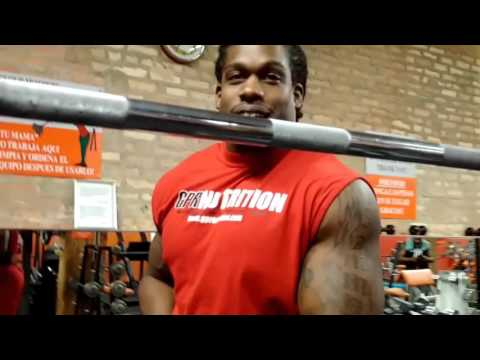 Gym Peters killing shoulders at Pilsen Fitness Center in Chicago, IL [Part 2]