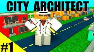 UM LAR PARA ROBLOX! -City Architect EP 1-ROBLOX