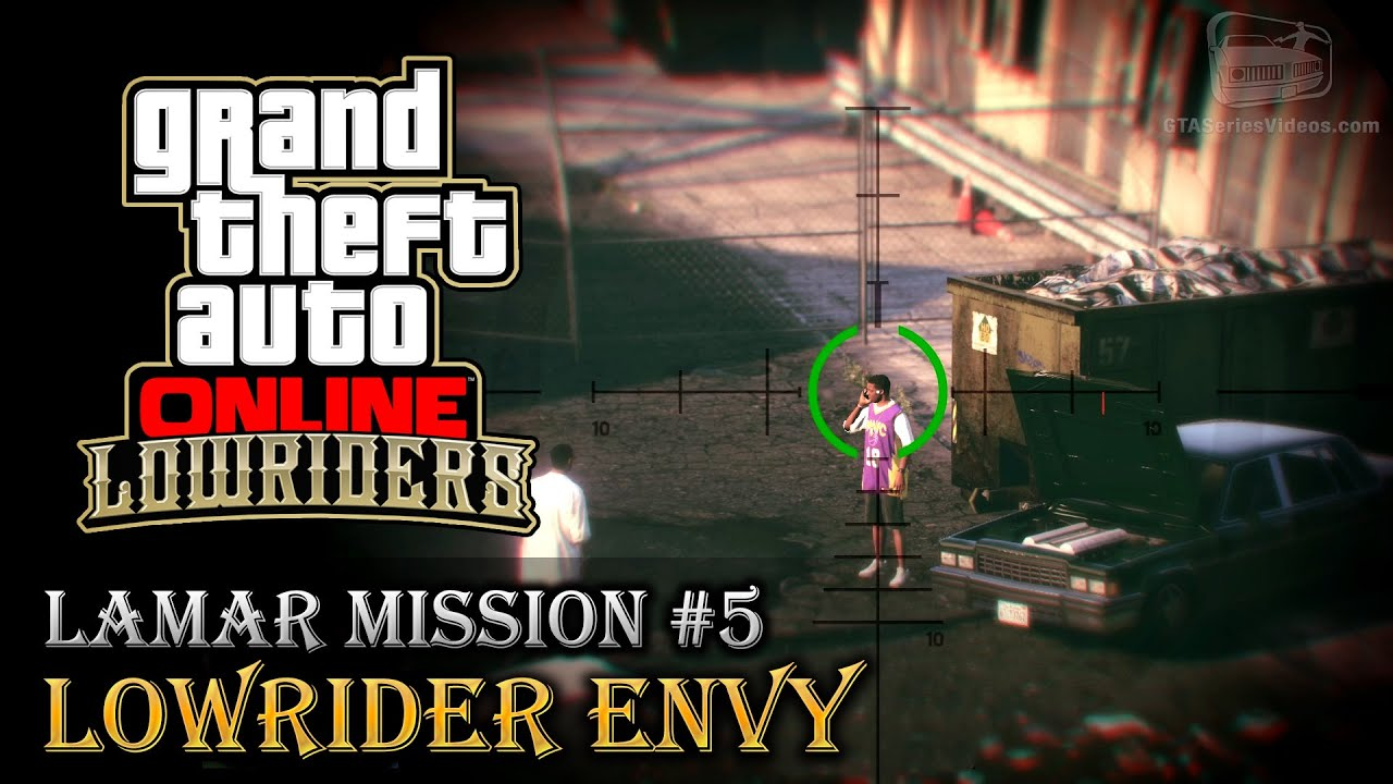 GTA line Lowriders Mission 5 Lowrider Envy [Hard Difficulty]
