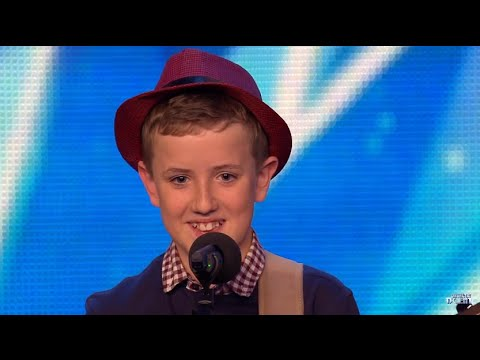BGT 2015 AUDITIONS -  HENRY GALLAGHER