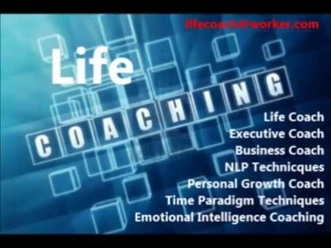 Life Coach Worker Business card
