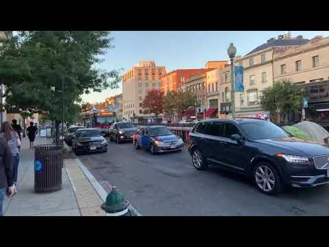 Live from Washington, D.C. – Walking US Capital During Election Results (November 7, 2020)