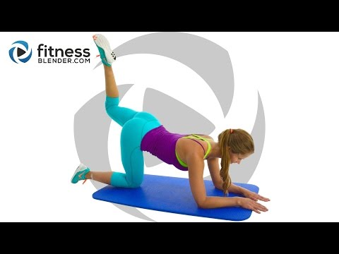 Fat Burning, Body Shaping Strength and Pilates Butt and Thigh Workout