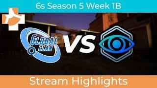 RGL 6s S5 W1B:  GlobalClan Ice vs. Witness Gaming | Stream Highlights | Jan 27, 2021