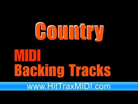 Country MIDI and MP3 Backing Track by Hit Trax