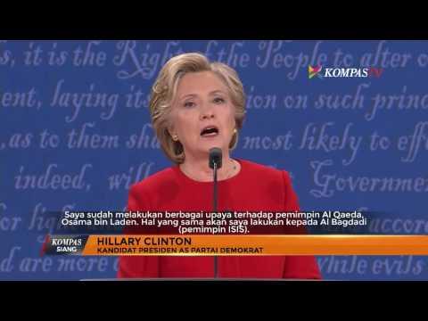 Debat Pertama Kandidat Presiden AS