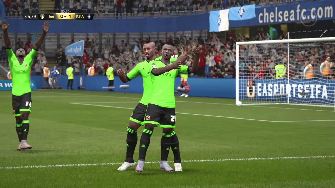 Sadio Mané GOAL #3 - Ultimate Team (FIFA 16) - YouTube