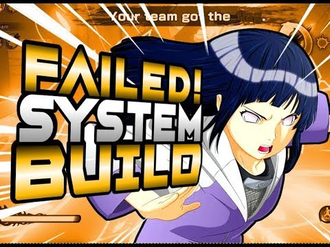 SYSTEM FAILURE Support Build Naruto To Boruto: Shinobi Striker