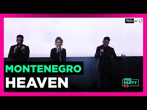 D Mol - Heaven (Montenegro Live At Eurovision Pre-Party ES)