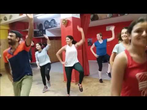 Bhangra on Sweetu (Diljit Dosanjh) in Germany   Bhangra Bolly Fitness   Munich