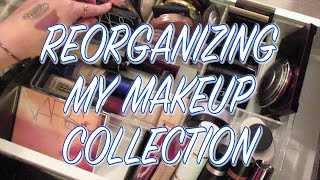 MAKEUP COLLECTION REORGANIZATION & DECLUTTER