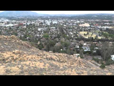 Vista Panorámica De La Ciudad De Riverside California