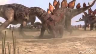 Allosaurus vs Stegosaurus!!!