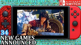 34 New Switch Games ANNOUNCED for Week 3 November 2018 | Weekly Nintendo Direct News