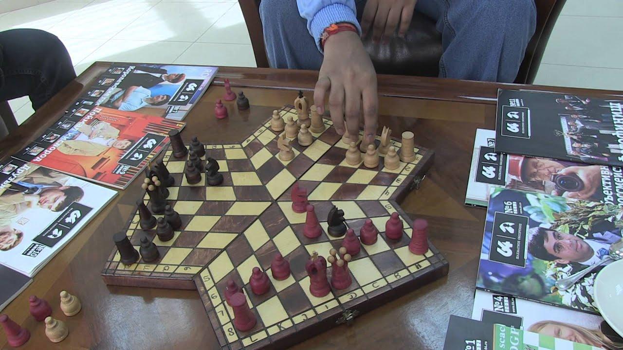 Шахматная королева. Хромакей - YouTube