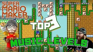 TOP 3 MOST AMAZING MUSIC LEVELS - Super Mario Maker - Com_Poser Creator Showcase!